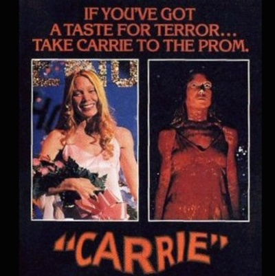 Carrie Movie Poster 1976 cutout