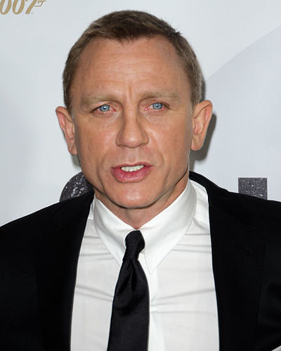 Daniel Craig Source Wikimedia Commons (credit Liam Mendes)