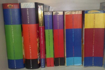 Harry Potter Books by J.K. Rowling