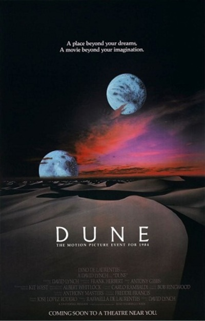 Poster for Dune the Movie