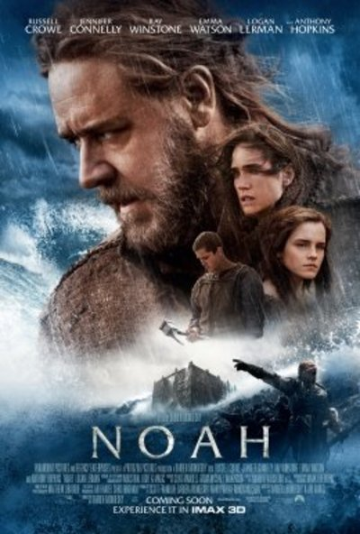Poster for Noah Starring Russell Crowe, Jennifer Connelly, Emma Watson and Anthony Hopkins