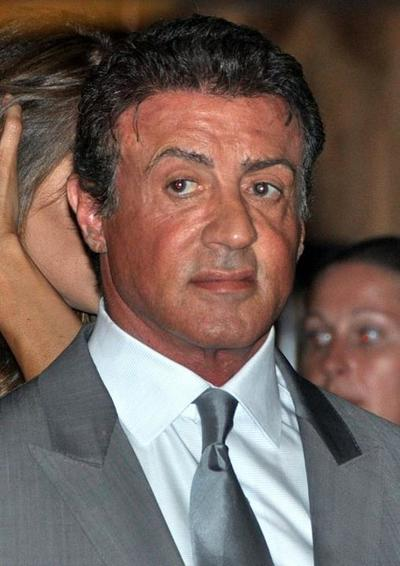 Sylvester Stallone at the Expendables 2 opening
